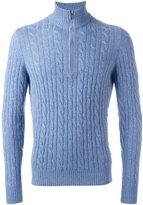 Loro Piana cashmere cable knit jumper