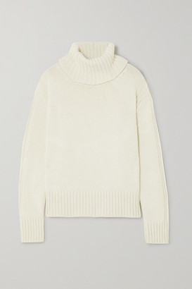 &Daughter Net Sustain Roshin Wool Turtleneck Sweater - Cream