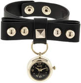 JCPenney Decree Studded Leather Watch