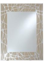 Decorative Wall Mirror Breeze Point Light Beige