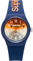 Superdry 3 Hands;Gradient Mirror Orange And Dark Blue Dial
