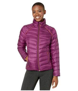 Spyder Timeless Down Jacket (Raisin) Women's Coat