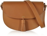 A.P.C. Diane Camel Leather Crossbody Bag