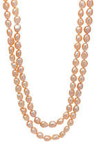 "Honora Cultured Pearl 8.0mm Baroque 50""NecklaceSterling Silver"