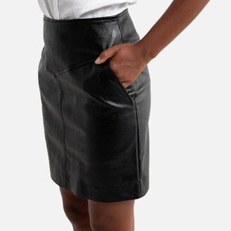 Pepe Jeans Faux Leather Mini Skirt