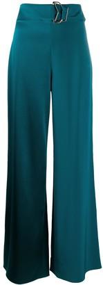 Cushnie high rise wide leg trousers