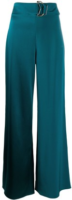 Cushnie High Rise Wide Leg Trousers