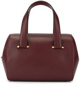Cartier zipped structured tote