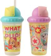 Nickelodeon PAW Patrol Girls 2 Piece Pop Up Straw Infants Sippy Cup