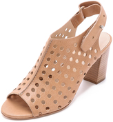 Loeffler Randall Alix Perforated Sandals