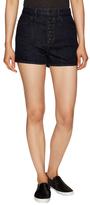 Helmut Lang Denim Front Button Shorts