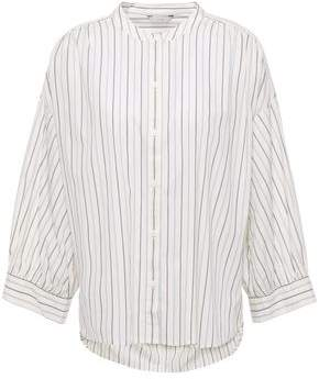 Joie Yoella Striped Cotton-poplin Shirt