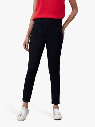 Joules Monroe High Waist Skinny Jeans, True Black