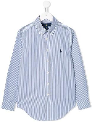 Ralph Lauren Kids Striped Button-Down Shirt