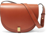 Victoria Beckham Half Moon Leather Shoulder Bag - Brown