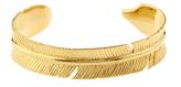 MARTE FRISNES Aurora gold-plated cuff