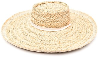 Zimmermann Wide-Brim Straw Hat