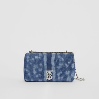 Burberry Small Quilted Denim Lola Bag