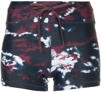 The Upside printed track shorts