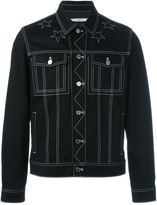 Givenchy contrast embroidered jacket