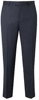 Daniel Hechter Pindot Tailored Suit Trousers, Charcoal