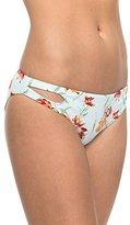Roxy Women's Printed Strappy Love Reversible Scooter Bikini Bottom