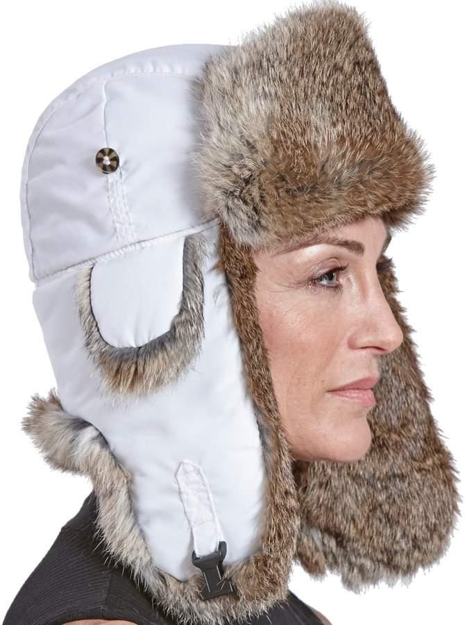18753261 Fur Flap Hat - ShopStyle Canada