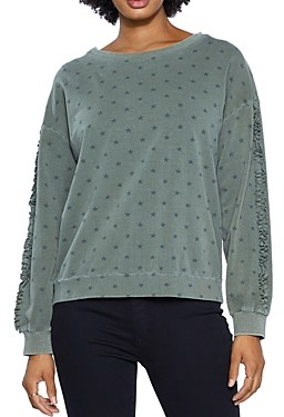 BILLY T Fav Star Print Sweatshirt