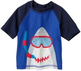 Joe Fresh Shark Rash Guard Top (Baby Boys)
