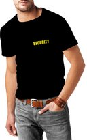 lepni.me N4114 T-shirt male Security (Large Black Yellow)