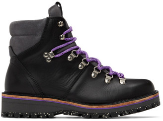 Paul Smith Black Leather Ash Boots