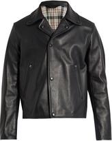 Acne Studios Awe notch-lapel leather jacket