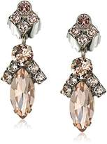 Sorrelli Satin Blush Elegant Navette Drop Earrings