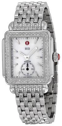 Michele Women's Deco Mid Diamond Watch