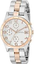 Marc Jacobs Marc by Women's MBM3070 Henry Two-Tone Stainless Steel Watch with Link Bracelet