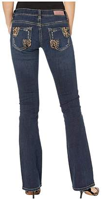 Rock and Roll Cowgirl Rival Low Rise Bootcut in Dark Vintage W6-2546 (Dark Vintage) Women's Jeans