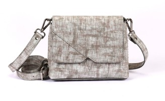 Hiva Atelier Mini Mare Straw Leather Bag Khaki
