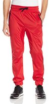 Southpole Men's Jogger Pants Tricot with Zipper Details and Piping On The Side