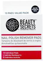 Beauty Secrets Nail Polish Remover Pads
