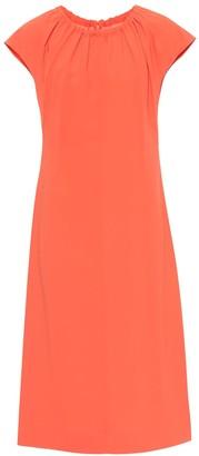 Diane von Furstenberg Satin-crepe dress