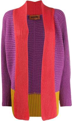 Missoni colour-block knitted cardigan