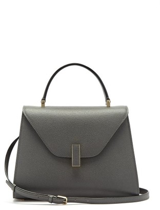 Valextra Iside Medium Saffiano Leather Bag - Grey