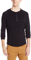 Howe Men's Digital Crimes Long Sleeve Henley