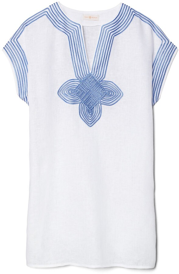 Thumbnail for your product : Tory Burch Embroidered Beach Tunic