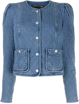 Veronica Beard Camilla quilted denim jacket