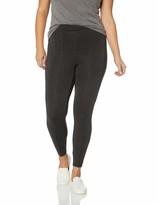 Thumbnail for your product : Daily Ritual Amazon Brand Women's Plus Size Faux 5-Pocket Ponte Knit Legging