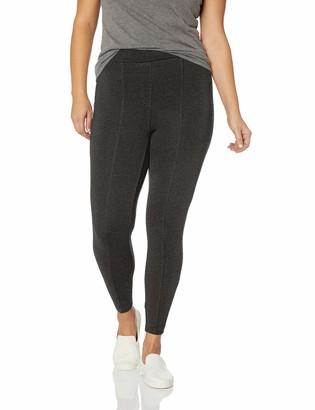 Daily Ritual Amazon Brand Women's Plus Size Faux 5-Pocket Ponte Knit Legging