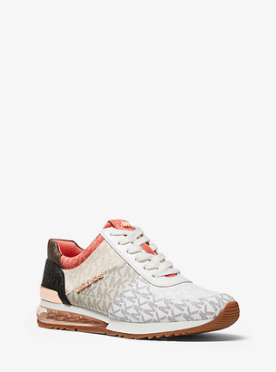 MICHAEL Michael Kors Allie Extreme Color-Block Logo Trainer