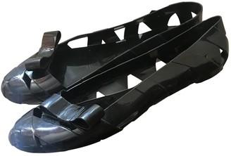 Kartell Black Plastic Ballet flats
