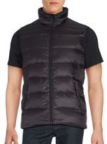 Saks Fifth Avenue Sleeveless Quilted Jacket